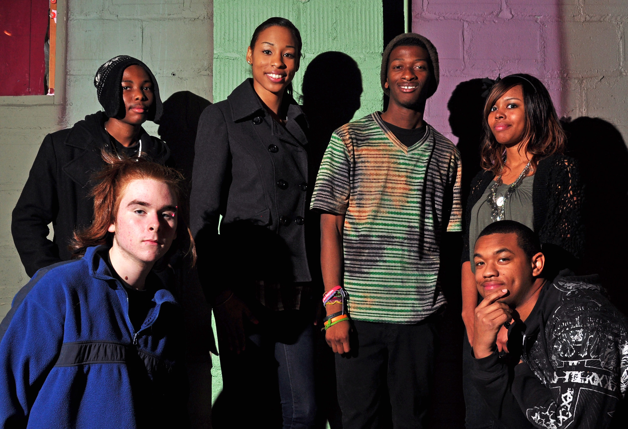 The Who WE ARE Movement, including jahmir Lewis, MaLasha henry, Cheronne Williams, Jada Winston, and others.