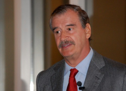 Former President of Mexico Vicente Fox