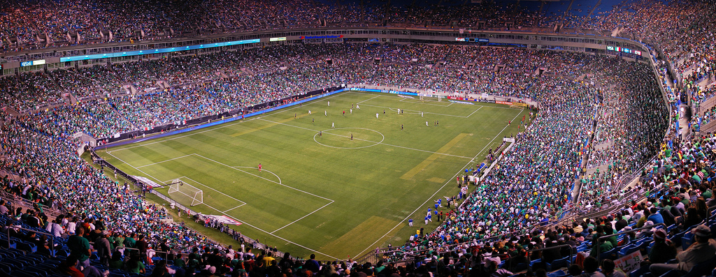 Mexico vs Iceland and Bank of America Stadium on March 24, 2010.