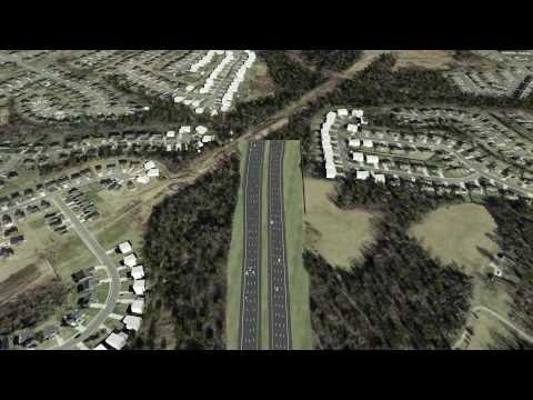 Plans for final stretch of 485 revealed with incredible 3D video flyovers