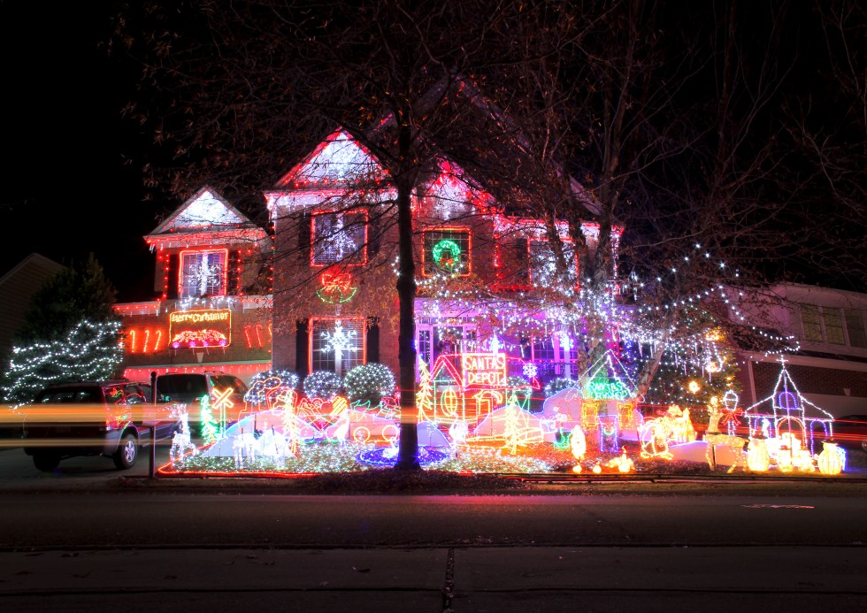 Christmas Light Displays Raleigh Nc